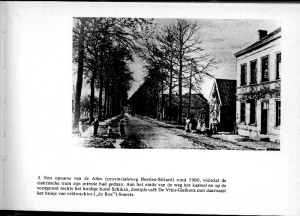 Allee rond 1900